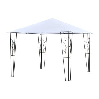 Outsunny Steel Outdoor Decorative Garden Gazebo