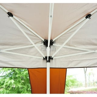 Outsunny Easy Pop Up Tent