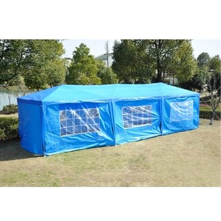 Outsunny Party Gazebo Tent with 8 Walls
