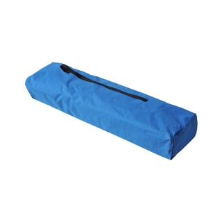 Outsunny Two Person Double Wide Folding Camping Cot - Blue