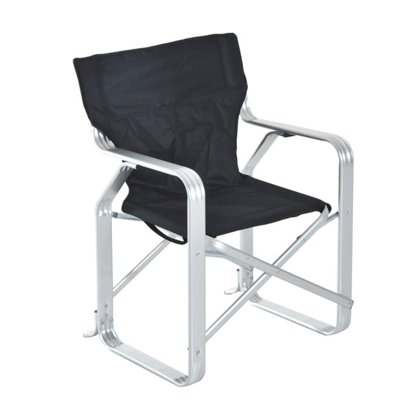Outsunny Heavy Duty Folding Director U0026amp; Camping Chair