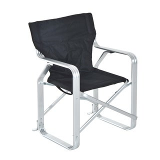 Outsunny Heavy Duty Folding Director & Camping Chair