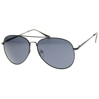 MLC Eyewear Double Bridge Fashion Aviator Sunglasses Model: NGW3160 - Black