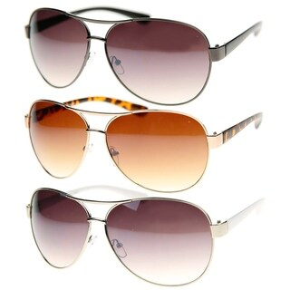 MLC Eyewear Thick Frame Retro Classic Fashion Aviator Sunglasses Model: NGF762
