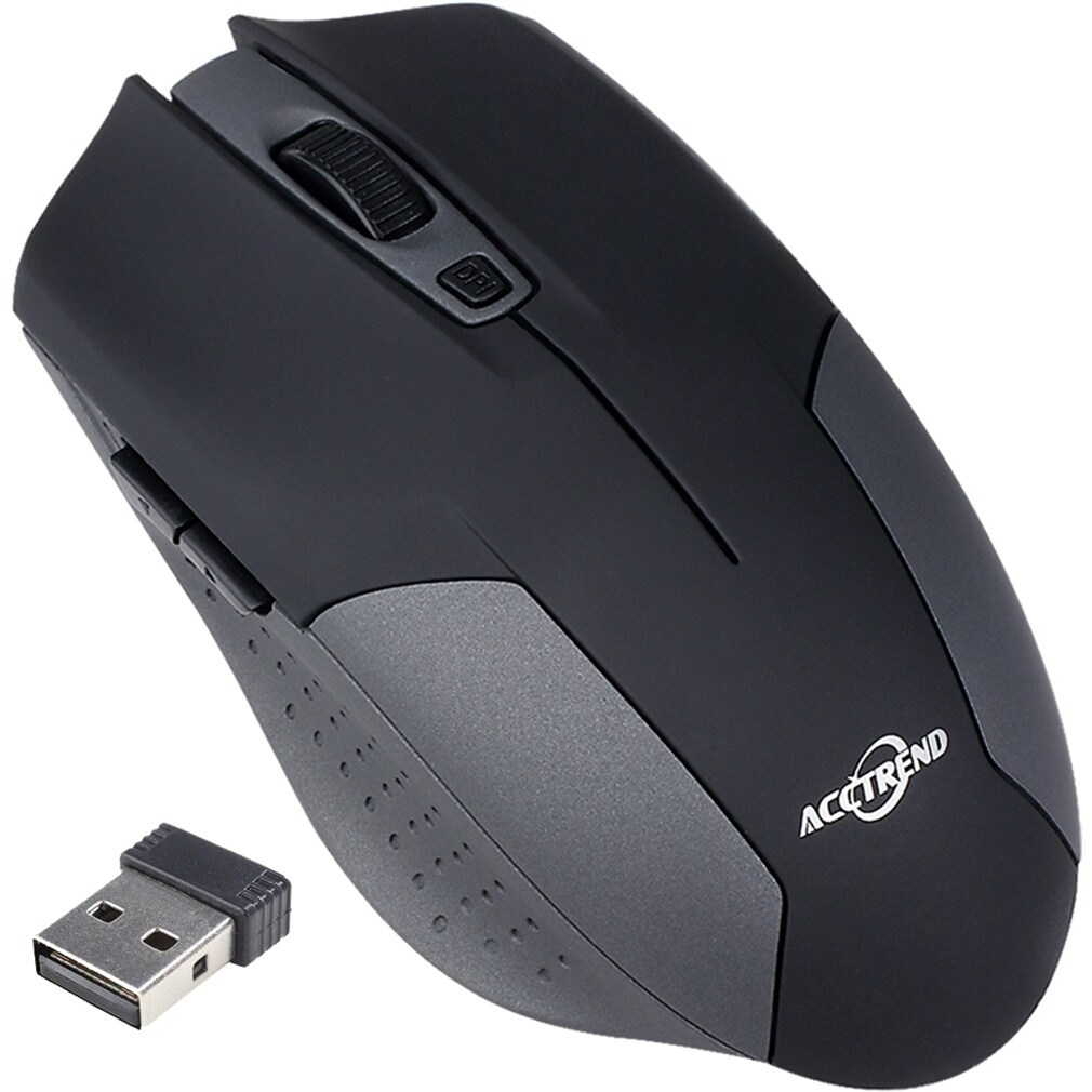 2.4GHz Wireless USB Receiver Mouse for Laptop Mac and PC,...