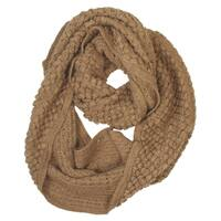 Women's Soft Crochet Knit Warm Winter Infinity Circle Scarf