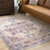 Remigio Traditional Oriental Khaki Area Rug (9'6 x 13'6)