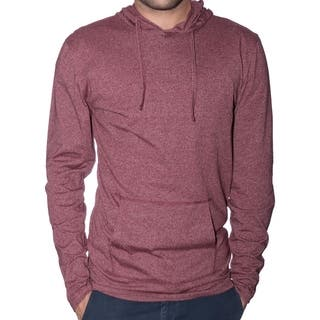 StraightFaded Mens Lightweight Marled Hoodie (Option: Red)|https://ak1.ostkcdn.com/images/products/18006959/P24177358.jpg?impolicy=medium