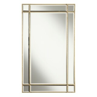 Florentine 22 in. Traditional Mirror in Gold leaf - Antique Gold