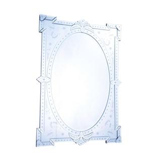 Venetian 29 in. Transitional Mirror in Clear