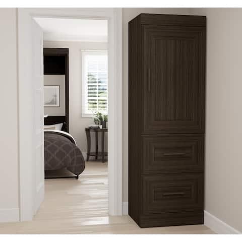 Edge by Bestar 2-Drawer Storage Unit with Door