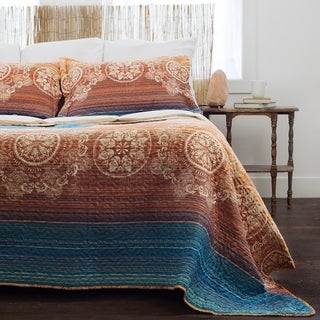 Slumber Shop Sunset Gold Vintage Collection Quilt Set
