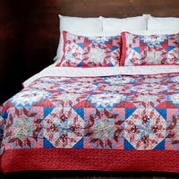 Slumber Shop Starburst Vintage Collection Quilt Set