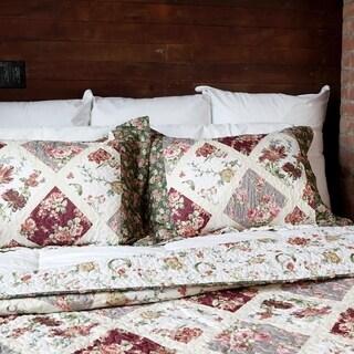 Slumber Shop Country Garden Vintage Collection Quilt Set