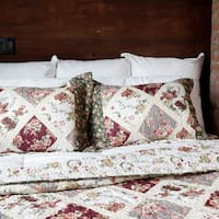 Slumber Shop Country Garden Vintage Collection Quilt Set