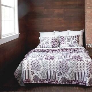 Slumber Shop Beata Vintage Collection Quilt Set