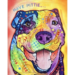 "Have Pittie Framed Print 10""x8"" by Dean Russo (More options available)"