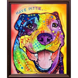 "Have Pittie Framed Print 10""x8"" by Dean Russo (2 options available)"