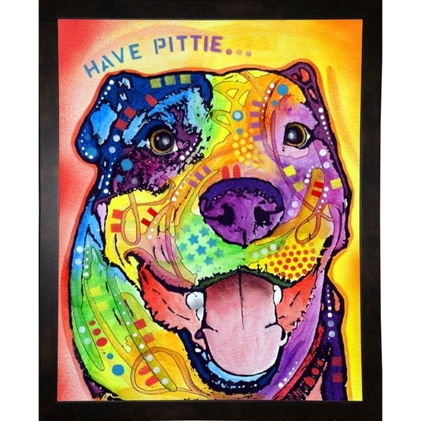 "Have Pittie Framed Print 10""x8"" by Dean Russo"