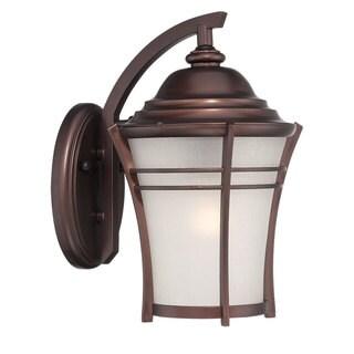 Acclaim Lighting Vero Collection Wall Lantern 1-Light Outdoor Architectural Bronze Light Fixture