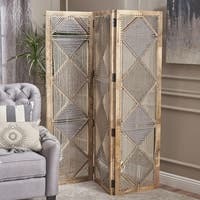 Davina Wood Wall Divider by Christopher Knight Home