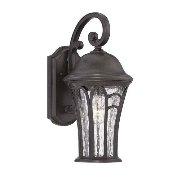 Acclaim Lighting Highgate Collection Black Coral 3-light Wall Lantern Outdoor Fixture