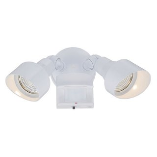 Acclaim Lighting Motion Activated LED Floodlights Collection 2-Light Outdoor White Light Fixture