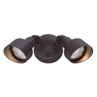 Acclaim Lighting LED Floodlights Collection 2-Light Outdoor Architectural Bronze Light Fixture