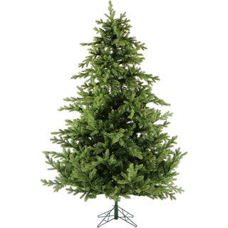 Fraser Hill Farm Green Artificial 12-foot Foxtail Pine Without Lights