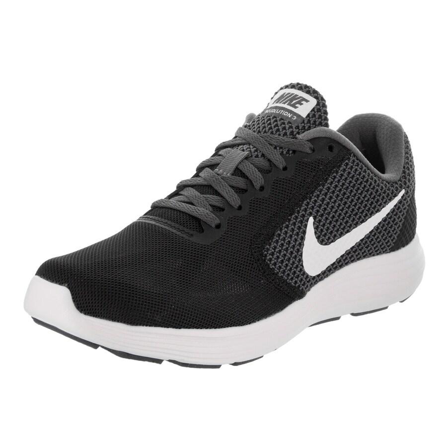 Nike Women's Revolution 3 Running Shoe (7), Black (Synthe...