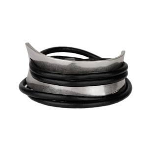 Handmade Saachi Gladiator Wrap Bracelet (China)|https://ak1.ostkcdn.com/images/products/18007892/P24178161.jpg?impolicy=medium