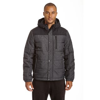 Champion Men's Herringbone Quilted Puffer with Hood