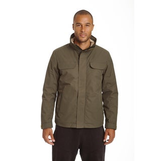 Champion Men's Tech Bomber with Sherpa Interior