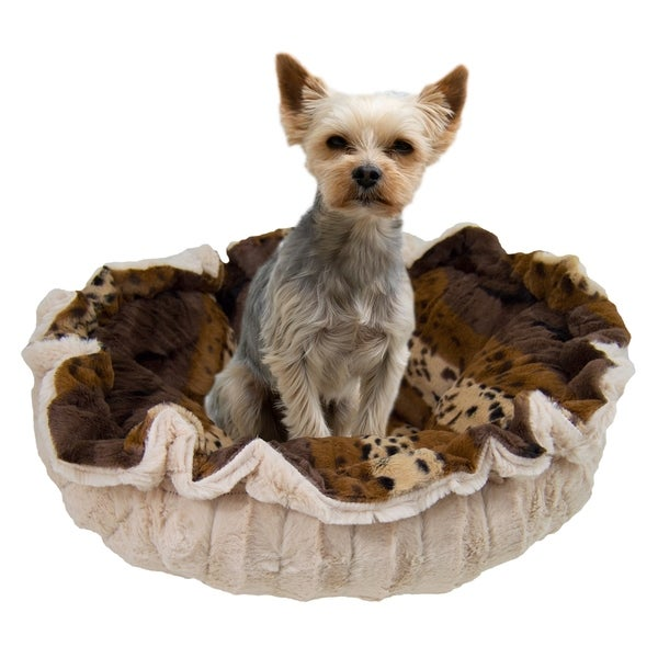 Cat Multiple Sizes Dog Puppy Super Soft Reversible Blanket Bessie and Barnie Frosted Willow Luxury Shag Ultra Plush Faux Fur Pet