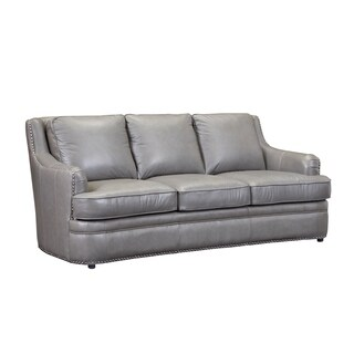 Calvin Top Grain Italian Leather Sofa