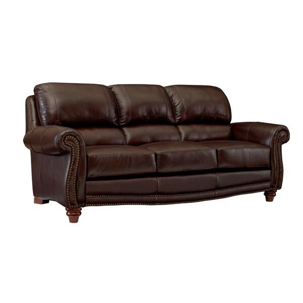 Carter Top Grain Italian Leather Sofa