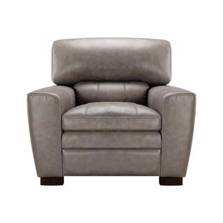 Avery Top Grain Italian Leather Club Chair