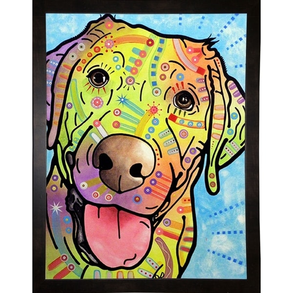 """Sunny Framed Print 8""""x6.25"""" by Dean Russo"""