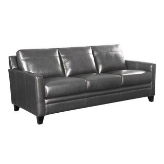 Warner Top Grain Italian Leather Sofa