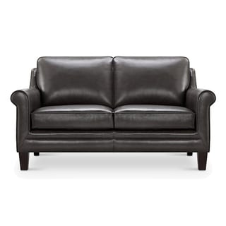 Clifton Top Grain Italian Leather Loveseat