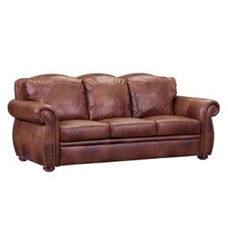 Casey Top Grain Italian Leather Sofa