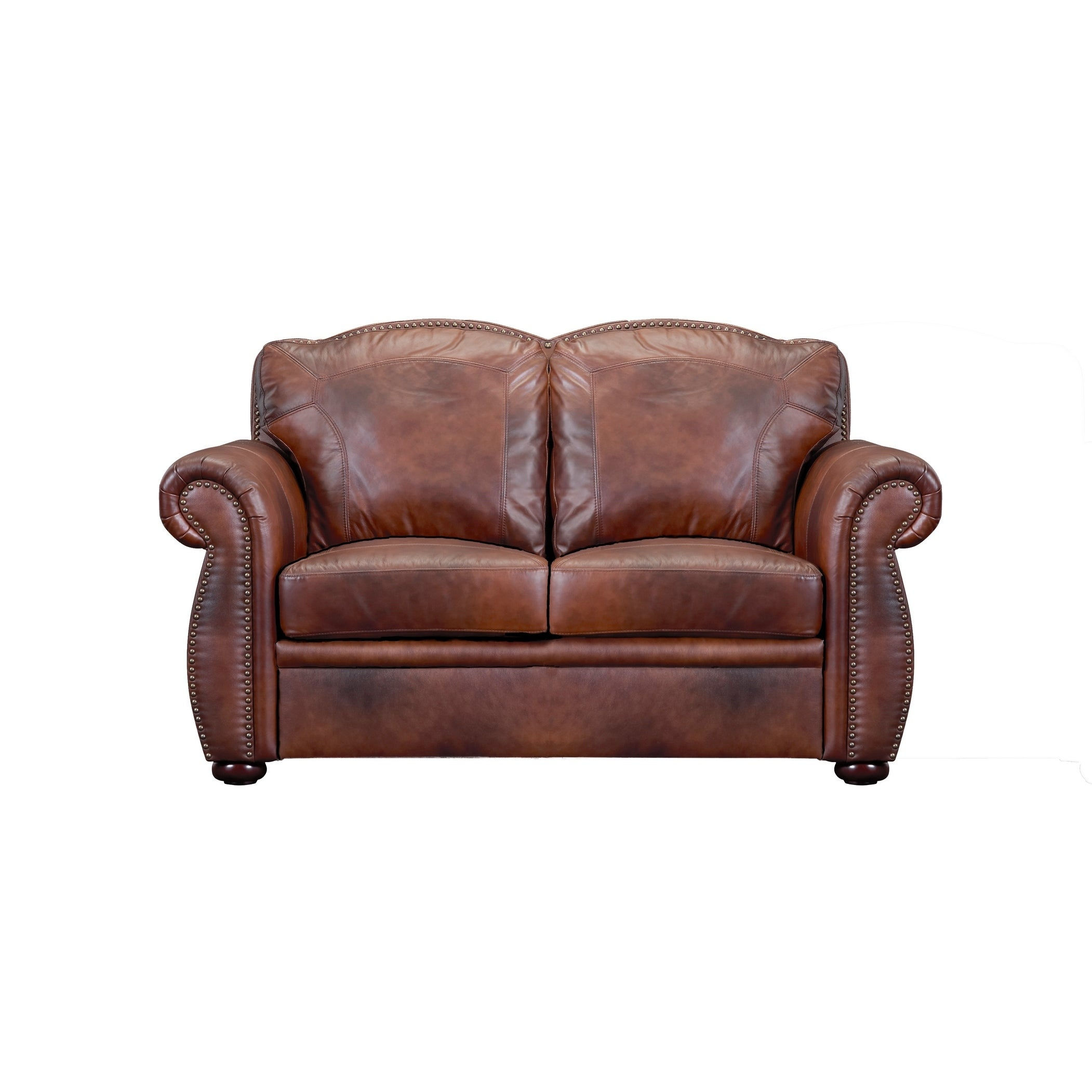 Astonishing Casey Top Grain Italian Leather Loveseat Onthecornerstone Fun Painted Chair Ideas Images Onthecornerstoneorg