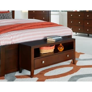 Hillsdale Pulse Cherry-finished Wood 1-drawer Dressing Bench|https://ak1.ostkcdn.com/images/products/18008151/P24178360.jpg?impolicy=medium