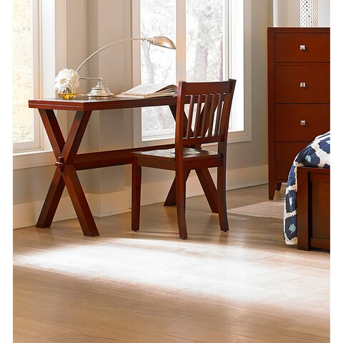 Hillsdale Pulse Desk and Chair, Cherry