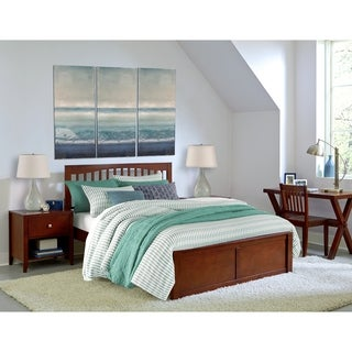 Hillsdale Pulse King Mission Bed, Cherry