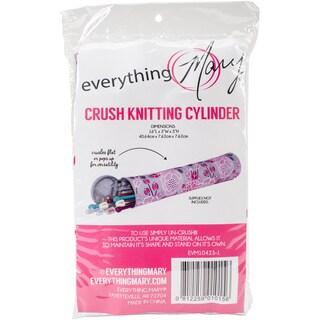 """Everything Mary Knitting Needle Holder-16""""X3""""X3"""" Crush Print"""