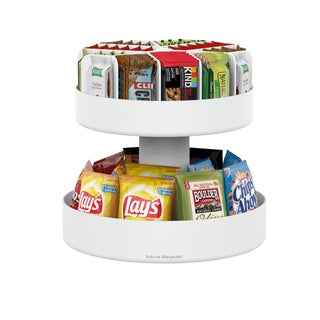 Mind Reader 'Supreme' Lazy Suzan 2 Tiered Snack Organizer