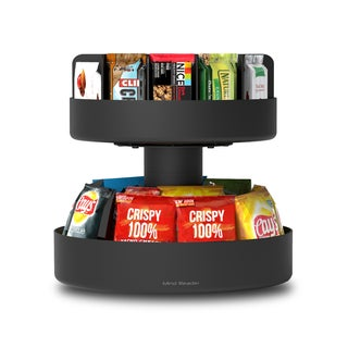 Mind Reader 'Supreme' Lazy Suzan 2 Tier Snack Organizer