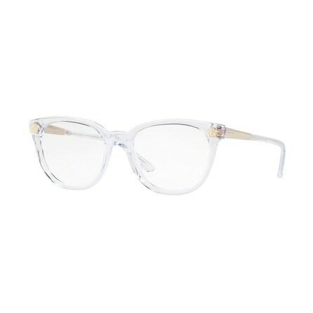f29ef5f5b240 Shop Versace Women s VE3242 148 52 Trasparent Plastic Eyeglasses ...
