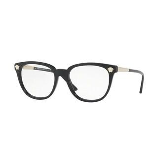Versace Women's VE3242A GB1 54 Black Plastic Eyeglasses
